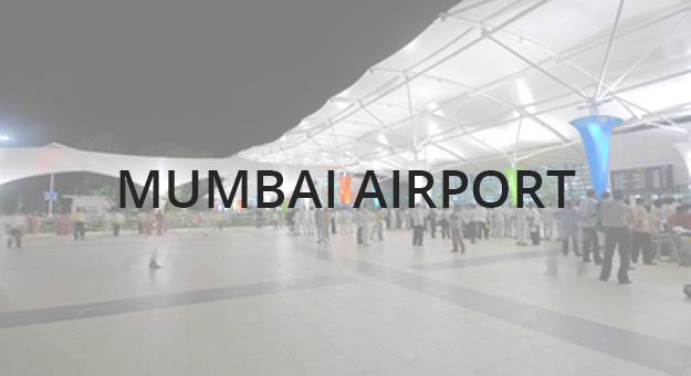 Public Shade Structures - Mumbai Airport