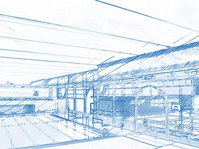 Cable Net Structures - St Margarets Cable Grid Velarium