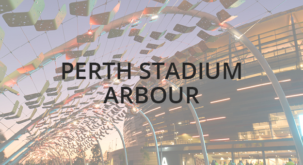 Cable Net Structures - The Perth Stadium Arbour